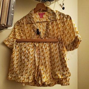 Isaac Mizrahi Sleepwear set size XS